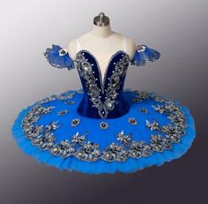 Classical-Ballet-Pancake-Tutu-4-professional-Competition-Festival-Royal-blue