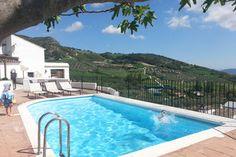 Superleuk vakantiehuis, deels tegen de rotswand, met eigen zwembad en geweldig uitzicht. Cottage/gîte Casa Del Pastor in Antequera, Los Nogales huren bij Belvilla.