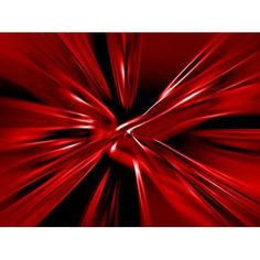 Posterazzi Red Streaks Flying Outwards Canvas Art - Tim Antoniuk Design Pics (32 x 24)