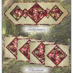 Free Quilted Placemat Patterns | ... Placemat Patterns: {Sew & No-Sew}. Free Patterns provides free quilted