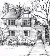 Resultado de imagen de houses drawings