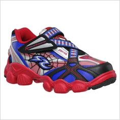 Marvel by Stride Rite Spider-Man Shoes-Cannon would LOVE these!!