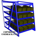 Used Carton Rack by SJF.com