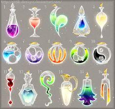 Potions set 10