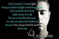 TLBC's Book Blog: Teaser from Jessica Wilde's book Vivid...