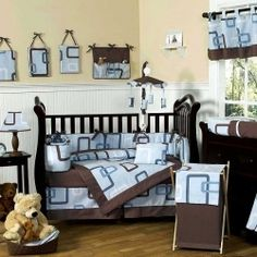 There are a lot of cute nursery themes available for baby boys! On this page you will find crib bedding, wall decor and all of the decorating...