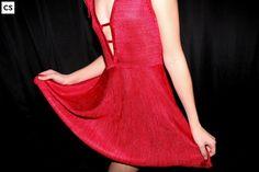 Nina ,vestido tejido en seda./Nina dress,knitsilk.