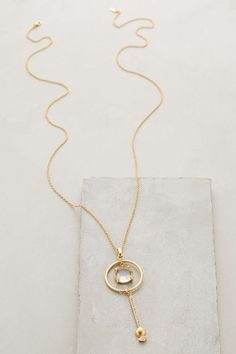 Circle-Swing Pendant Necklace - anthropologie.com #anthroregistry