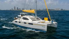 Catamaran For Sale, Wind Speed And Direction, Electric Winch, Radio Cd Player, Heat Exchanger, Fresh Water Tank, Sail Boats, Boats For Sale