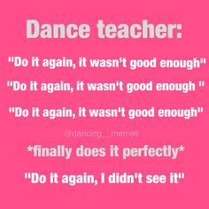 @dancing__memes funny dance ballet Instagram account relatable