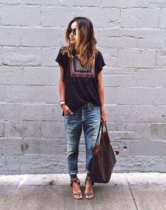 Άνεση με boyfriend jeans