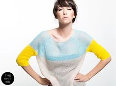 Items similar to Super kid mohair knit sweater aqua sweater yellow transparent sheer light soft theknitkid THE KID KNIT Knitwear made in Germany Berlin on Etsy Crochet Pullover Pattern, Sweater Knitting Patterns, Knitting Designs, Knitting Yarn, Knitting Sweaters, Cardigan Pattern, Crochet Patterns, Summer Knitting, Knitting For Kids