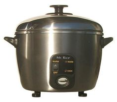 10-Cups Stainless Steel Rice Cooker / Steamer $89.39  http://www.addoway.com/Lucile_Wittren/storefront