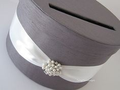 Wedding Wishing Well Gift Card Money Box by LaceyClaireDesigns, $65.00