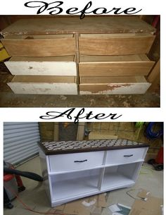 House Canvas Trash To Treasures Turning A Dresser Into Buffet Table