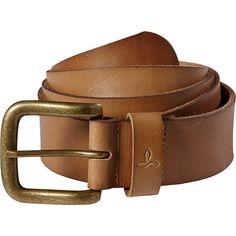 PrAna Men's Belt - Brown - Large/XLarge - Men's Belts (155 BRL) ❤ liked on Polyvore featuring men's fashion, men's accessories, men's belts, accessories, brown, mens wide leather belts, mens brown belt, mens leather accessories, mens genuine leather belts and mens belts