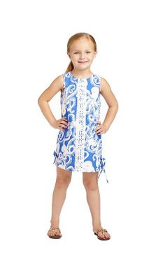 26e33a3c3e59f1 Lilly Pulitzer Little Lilly Classic Shift in Bubbly Little Girl Outfits,  Cute Outfits For Kids