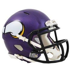 Riddell Minnesota Vikings Revolution Speed Mini Football Helmet