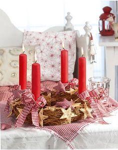 sweet little advent wreath :)