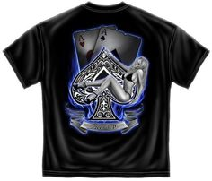 """""""Aces Up' poker t-shirt for just $16.95"""