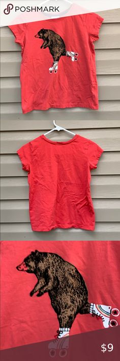 HANNA ANDERSSON girls NWT 90 100 110 120 130 140 150 160 POWER TEE S//S T-Shirts