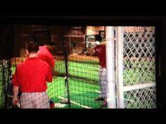 Adrian Gonzalez Tee Work - YouTube