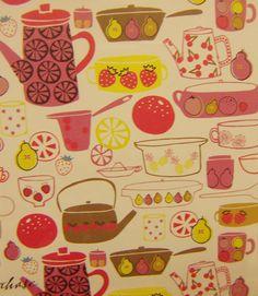 print & pattern Kitchen Prints, Food Illustrations, Surface Pattern Design, Print Patterns