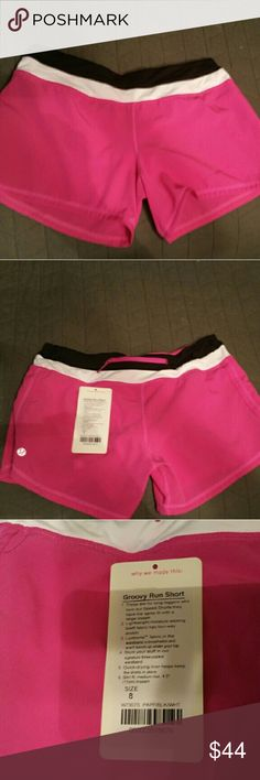 Lululemon Groovy Run Shorts These came to me brand new with tags, and I wore them one time. They do not really fit me right. These are a size 8. lululemon athletica Shorts