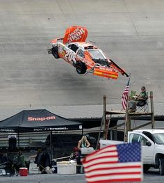 Nascar Discover Spectacular crashes and memorable moments from Dover Speedway Joey Logano Nascar Crash, Nascar Race Cars, Nascar Sprint, Nascar Wrecks, Late Model Racing, Joey Logano, Flying Car, Vintage Race Car, Luxury Sports Cars