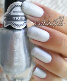 cubbiful: The Swatch Game - Leticia Well Metallic Matte Collection