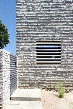 #architecture #design #buildings #stone - Wall House by and'rol