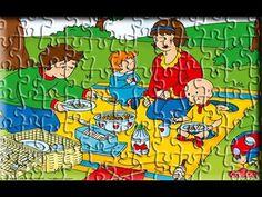 13 en iyi Caillou Puzzle Games For Kids görüntüsü, 2017