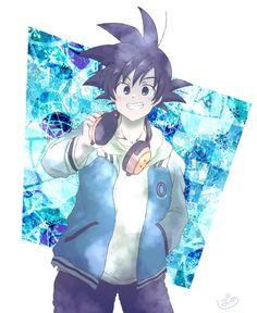 Dragon Ball Z, Goku Dragon, Dragon Ball Image, Goku Chibi, Anime Pixel Art, Anime Art, Goku Images, Female Goku, Sailor Saturno