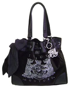 Juicy Couture Scottie Bling Daydreamer Tote Handbag Purse ~ Black In Color by Juicy Couture, http://www.amazon.com/dp/B0068UBPBY/ref=cm_sw_r_pi_dp_Cl4Bqb0GH332X disclosure affiliate link