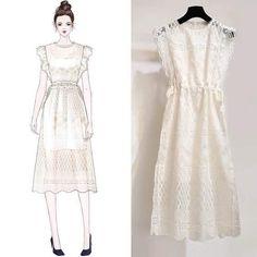 Fashion Drawing Dresses, Fashion Illustration Dresses, Fashion Dresses, Fashion Illustrations, Korean Girl Fashion, Womens Fashion, Dress Sketches, Fashion Design Drawings, Mode Style