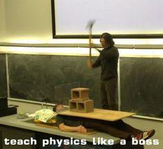 My high school science teacher did this with a math teacher every year