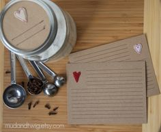 A sweet way to record the recipes closest to your heart.