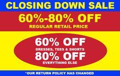 Bargain - 60-80% OFF - Regular Retail Price @ Pumpkin Patch