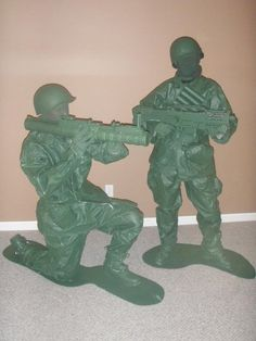 Toy Army Soldier Homemade Costume