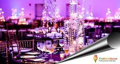 Unforgettable Venues for Unforgettable Moments only at #findbestvenue .#PartyHall #Weddings
