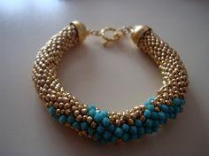 beaded bracelet $35.00