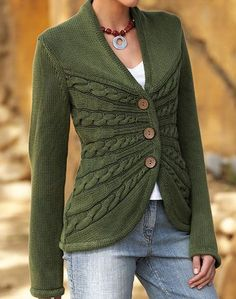 Isabella Bird sweater | Flickr - Photo Sharing! Pattern: http://www.ravelry.com/patterns/library/sunburst-cable-cardigan