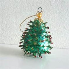 vintage beaded ornaments - Yahoo Image Search Results