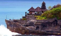 Ubud Tanah Lot Temple in Bali, Indonesia. A place to worship of Baruna God or Bhatara Segara that is potency power go out to the sea. Oh The Places You'll Go, Places To Travel, Places To Visit, Bali Beach Resorts, Kuta Beach, Temple Bali, Bali Sunset, Voyage Bali, Hidden Beach