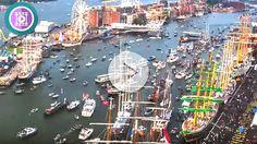 ¿ Puedes localizar un barco de cruceros en este espectacular vídeo ?