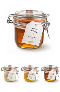 simple and #elegant. Die Web und Branding Agentur in Zürich | allink #honey #packaging