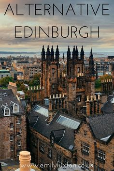 Four alternative and offbeat things to do in Edinburgh.