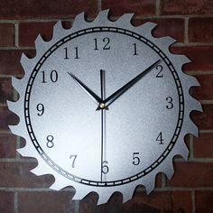 Original Metal Texture Wheel Gear Wall Clock Art Creative Design Digital Popular Wall Clock Silent Non-tickingWall Clock