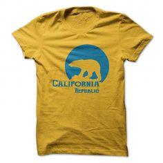 California Republic T Shirts, Hoodies. Get it now ==► https://www.sunfrog.com/Pets/California-Republic-122527197-Guys.html?41382