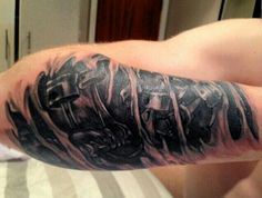 Engine tattoo